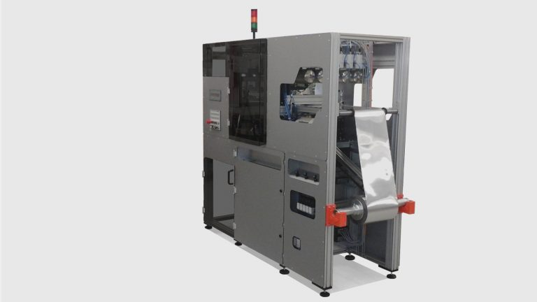 MONO500 alu foil tray compact production plant